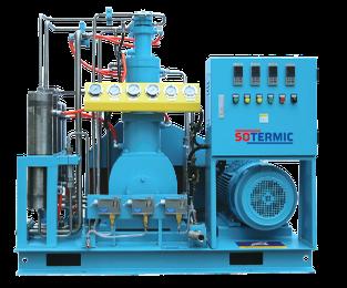 Compresor libre de aceite para oxígeno