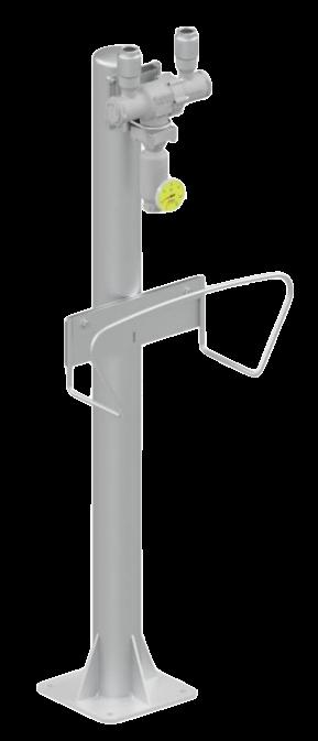 Instalación mezclador de agua vapor