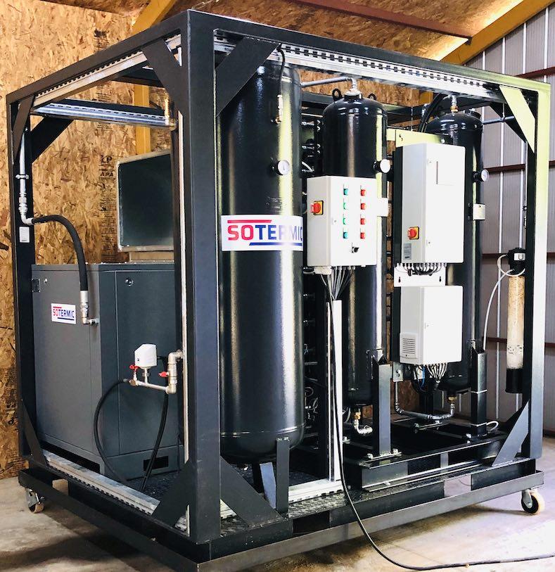 Arriendo generador de nitrógeno gaseoso