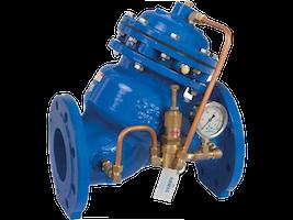 Valvula reductora de presion para redes de agua