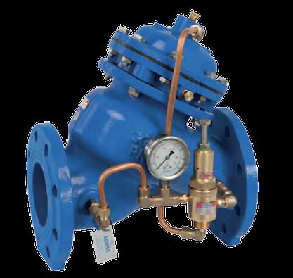 valvula de alivio rapido de presion para red de agua