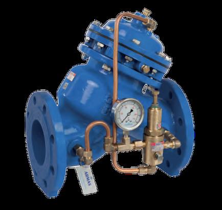 valvula sostenedora de presion para red de agua