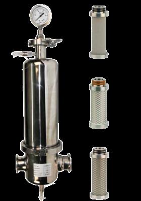 Filtro esterilizador